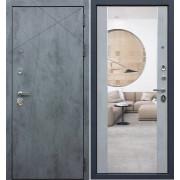 Входная дверь Дуэт Б с ударопрочным зеркалом