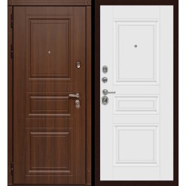Входная дверь Сударь .МД-25  Орех бренди