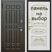 Входная дверь Комфорт Император венге поперечный