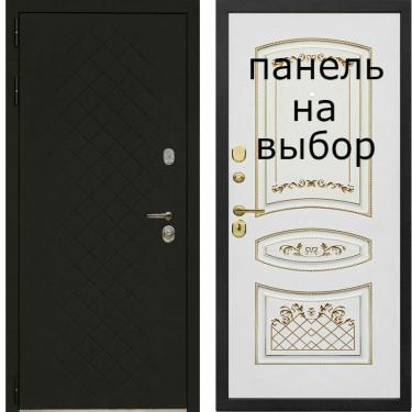 Входная дверь Комфорт Эксклюзив (Чёрный ясень )