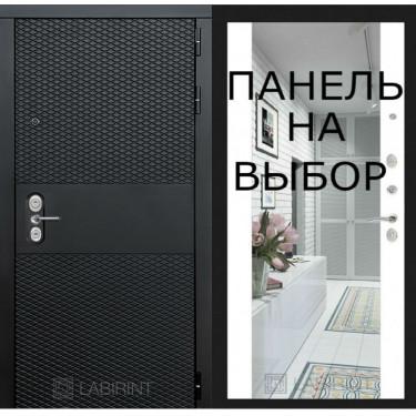 Входная дверь Лабиринт BLACK - ВНУТРЕННЯЯ ПАНЕЛЬ НА ВЫБОР