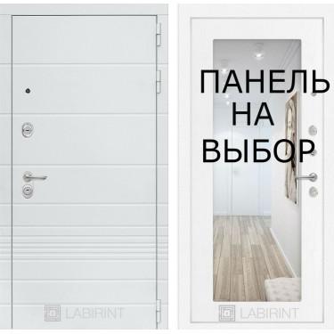 Входная дверь Лабиринт-TRENDO-Внутренняя панель на выбор