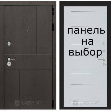 Входная дверь Лабиринт-URBAN-Внутренняя панель на выбор