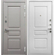 Входная дверь Ратибор Лондон 3К Белый Софт