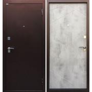 Входная дверь Ратибор Рубеж (Медный антик / Бетон Светлый)