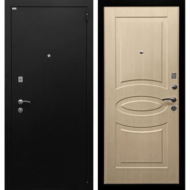 Входная дверь Ратибор Классик 3К (Черное Серебро / Эко дуб):