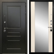 Монолит 3К Зеркало (Венге / Сандал белый)130мм
