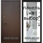 Входная дверь  Рекс-16 АНТИК МЕДНЫЙ