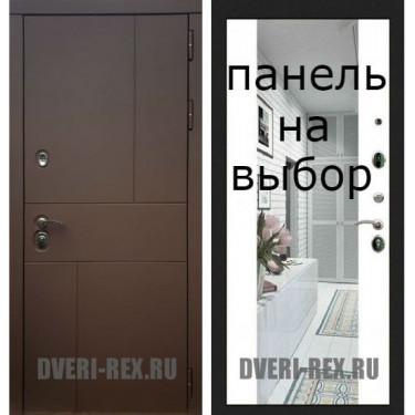 Входная дверь  Рекс--16 АНТИК МЕДНЫЙ-Внутренняя панель на выбор