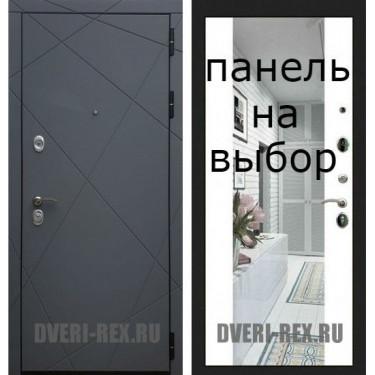 Входная дверь  Рекс- СИЛК ТИТАН-Внутренняя панель на выбор