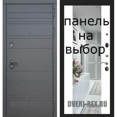 Входная дверь  Рекс-14 СИЛК ТИТАН-Внутренняя панель на выбор