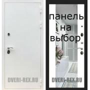 Входная дверь  Рекс-5А БЕЛАЯ ШАГРЕНЬ