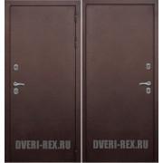 Входная дверь Рекс с терморазрывом (Антик медь/Антик медь)