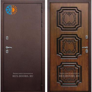 Входная дверь Рекс-с терморазрывом (Золотой дуб)