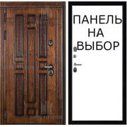 Уличная дверь Император, цвет красный сандал