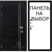 Дверь входная Сенатор Карбон, цвет черная мозаика