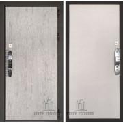 Дверь входная электронная взломостойкая Новатор, цвет серый шпат