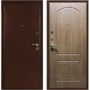 Входная  дверь ОПТИМ  Орех Кантри