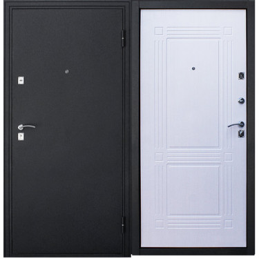 Входная  дверь КВАДРАТЫ БЕЛЕНЫЙ ДУБ