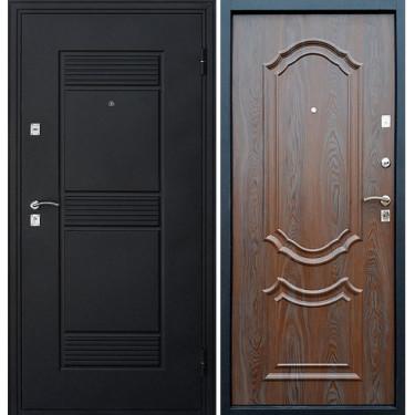 Входная  дверь ВЕНЕЦИЯ ВЕНГЕ С ПАТИНОЙ 3D
